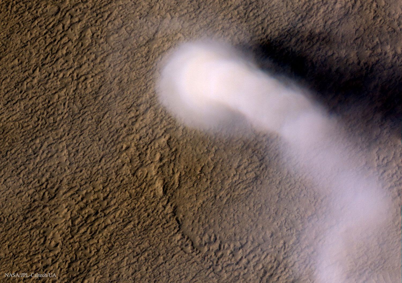 Un diaño de po sobre Marte