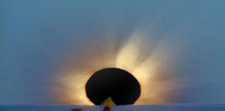 Eclipse total na Antártida