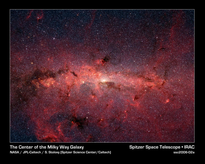 O centro da nosa galaxia Vía Láctea