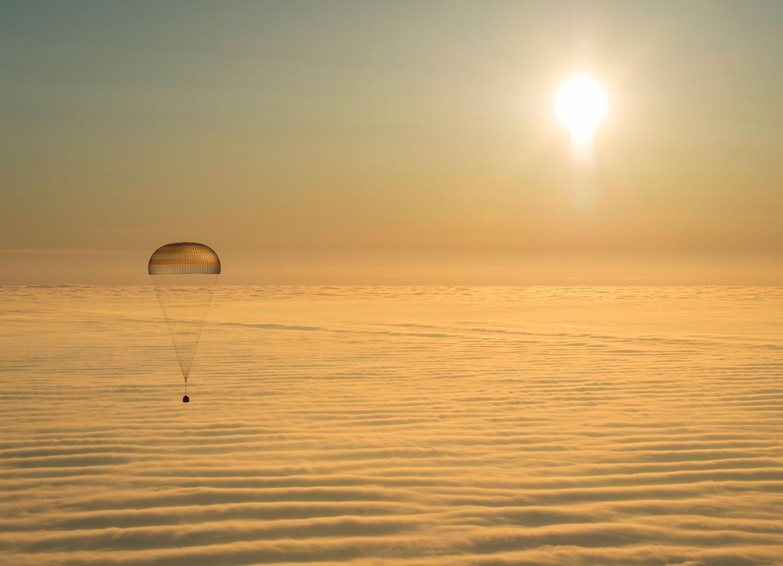 nave espacial Soyuz