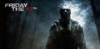 Cartel do filme Venres 13, un clásico do terror.