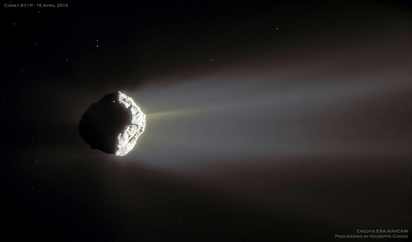 Cometa Churyumov-Gerasimenko