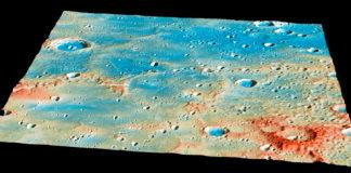 Derradeiro día da MESSENGER en Mercurio