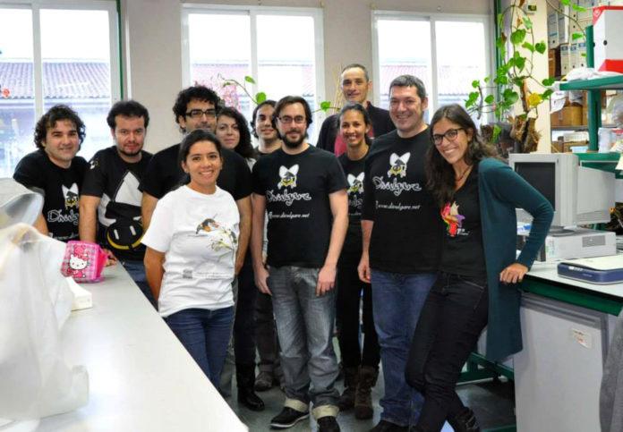 O equipo de Divulgare, da Universidade de Vigo.