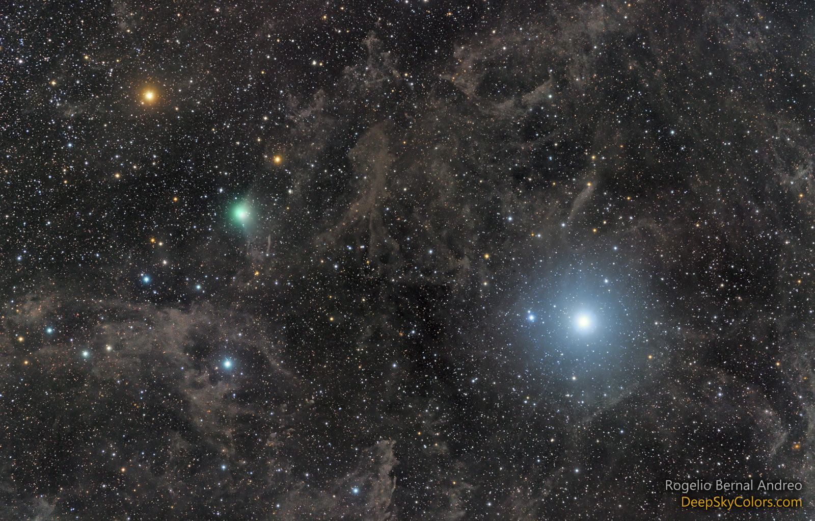 Polaris mailo cometa Lovejoy