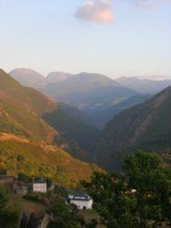 Val do río Ser, nos Ancares, en Navia de Suarna.