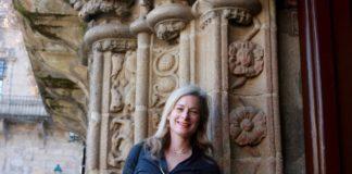 Lisa Randall, na Universidade de Santiago.