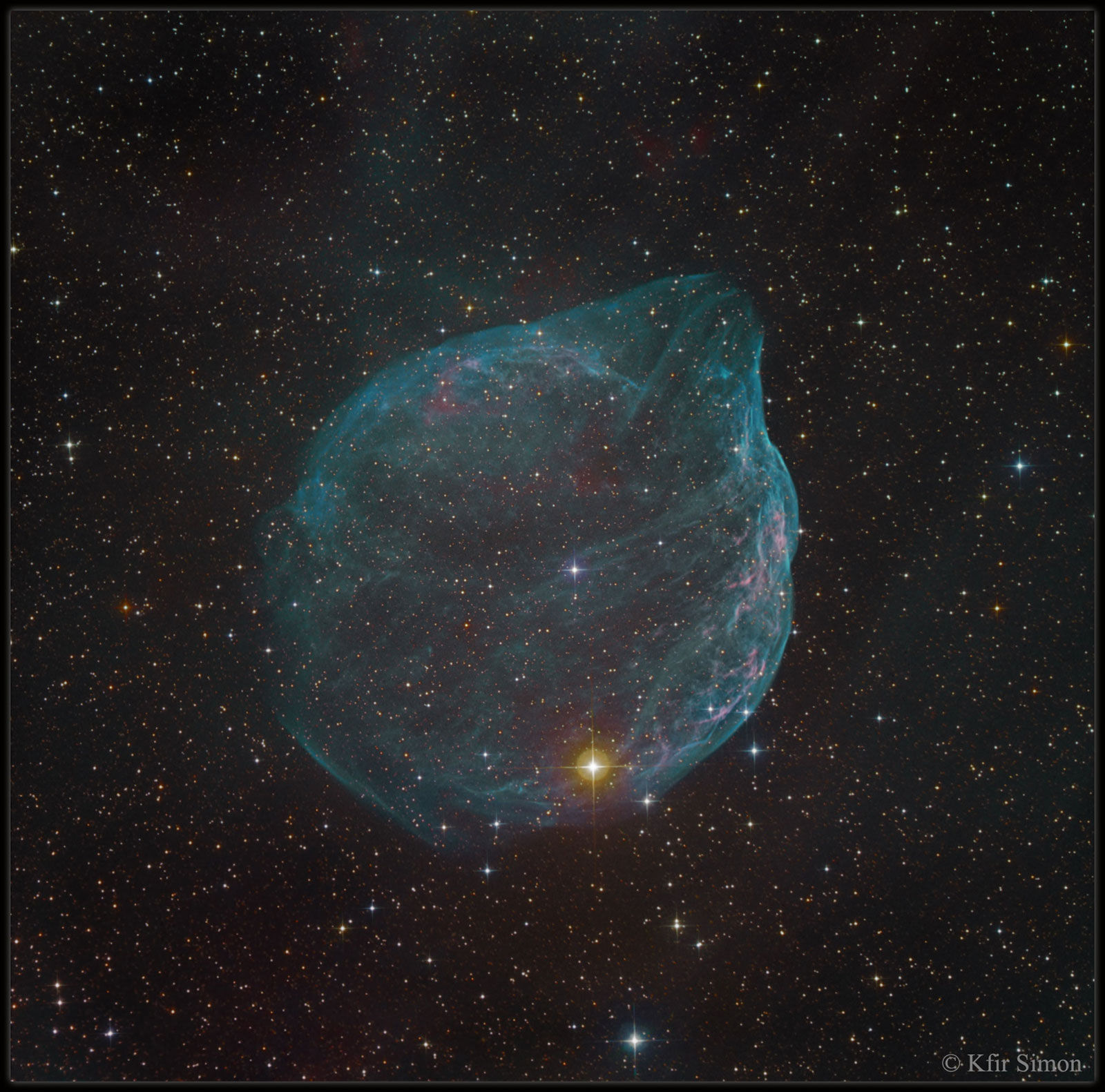 Sharpless 308: a burbulla estelar
