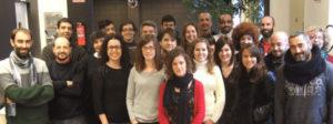 Parte del equipo de Netex encargado de la digitalización de contenidos