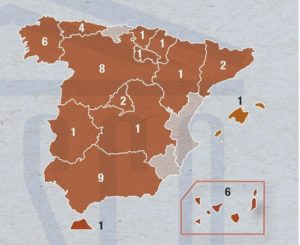 Reservas da Biosfera en España.