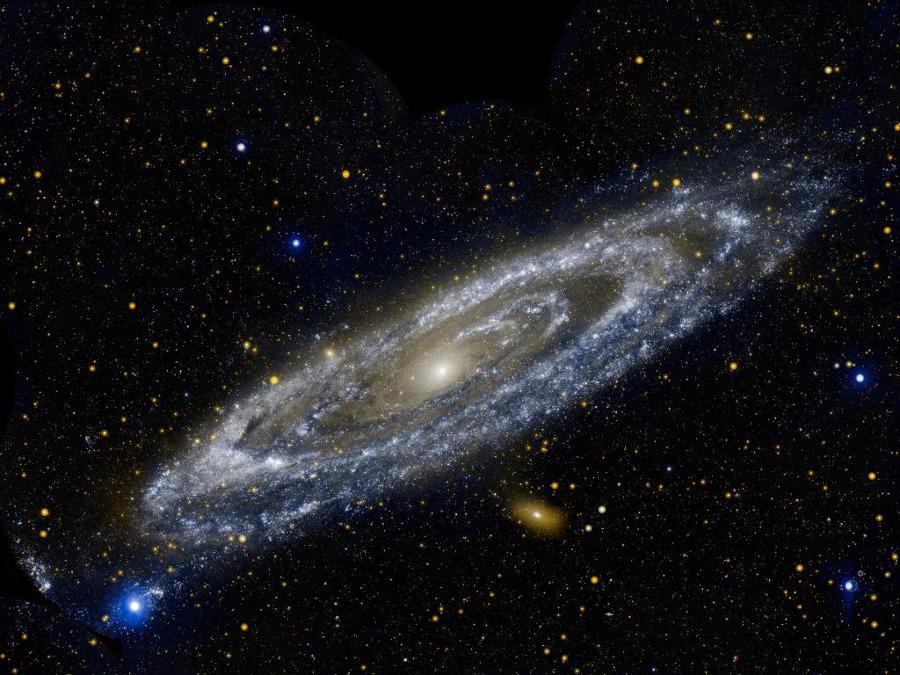 Créditos da imaxe: GALEX, JPL-Caltech, NASA