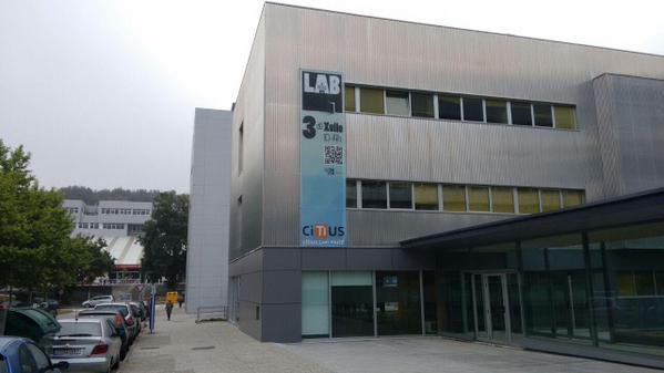 Edificio do CiTIUS. Foto: USC.