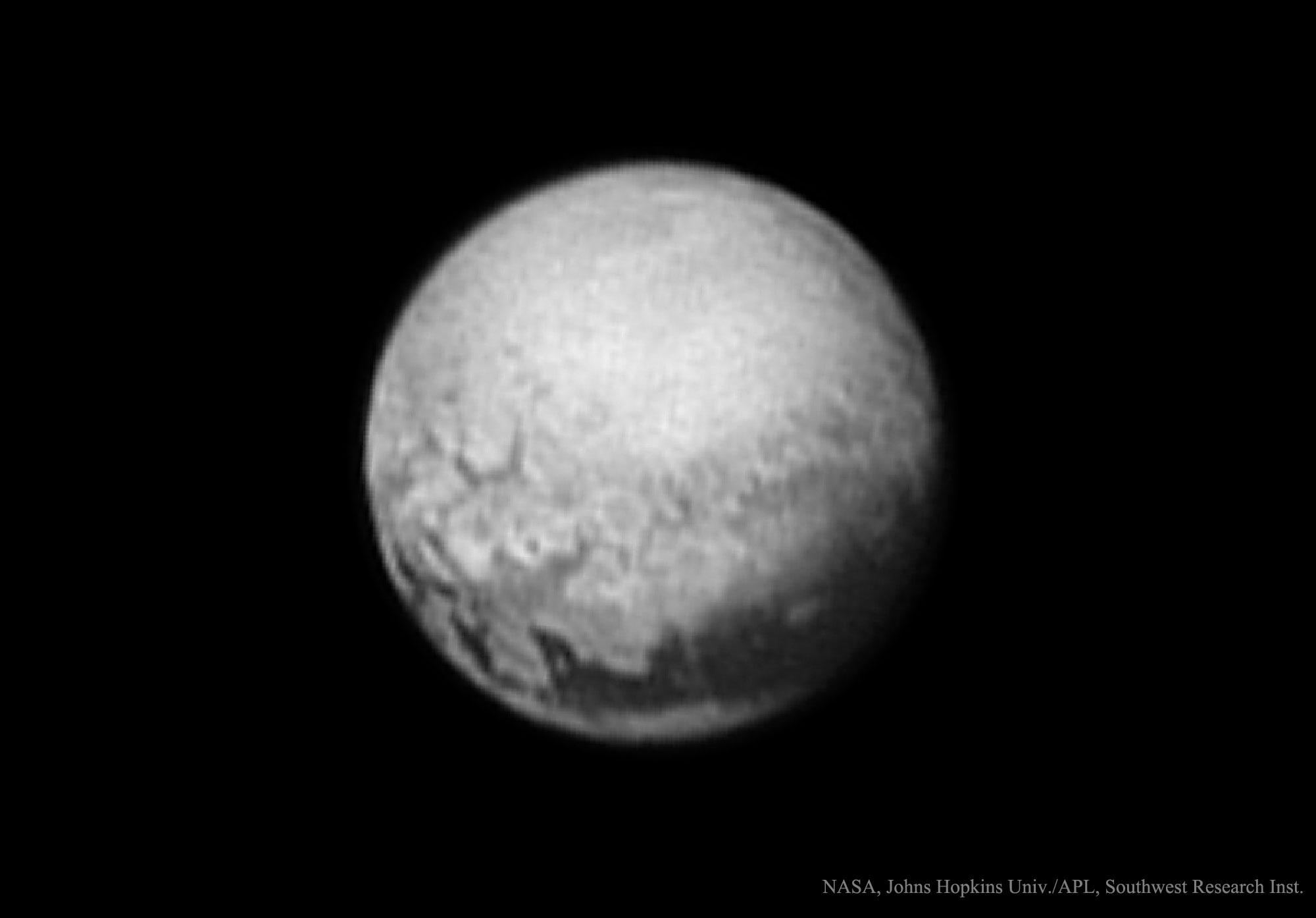 Créditos da imaxe: NASA, Johns Hopkins Univ./APL, Southwest Research Inst.