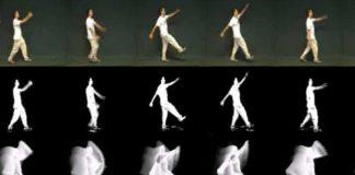O algoritmo permite ao computador entender o movemento humano.