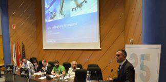 José Antonio Vilán presentou o proxecto de grao en Enxeñería Aeroespacial.