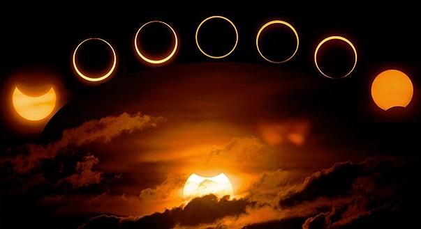 Eclipse total de sol.