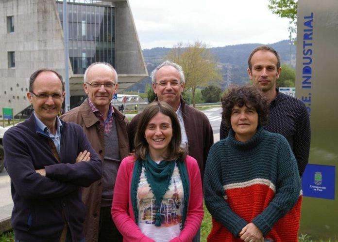 Os científicos Pío González, Roberto Valdés, Stefano Chiussi, Miriam López, Julia Serra y Stefan Stefanov.