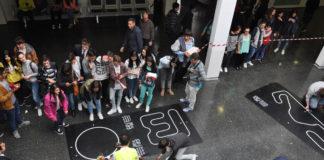 A Escola Superior de Enxeñería Industrial de Vigo acolleu a competición.