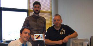 O equipo de Enxeñería Informática de Ourense que deseñou o Sketch Arm.