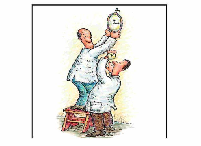 O experimento demostra un principio da Relatividade.