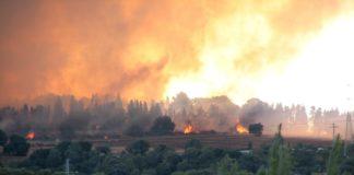 A suba das temperaturas en verán en 4 graos e a baixa das chuvias fará que medren os incendios.