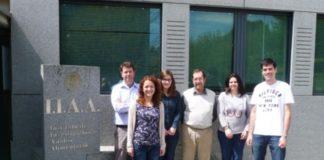 Investigadores do grupo ChromChem, da USC.