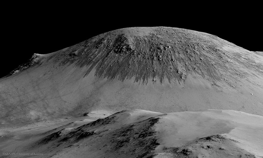 Créditos da imaxe: NASA, JPL, U. Arizona.