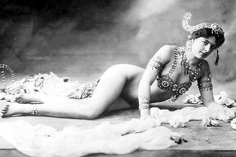Mata Hari, nunha estampa promocional.