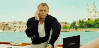 A marca Sony é unha das habituais nas últimas entregas de James Bond.