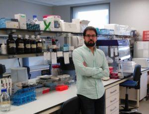 Antón Barreiro, investigador da USC. Foto: USC.