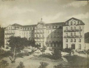 Imaxe do Gran Hotel balneario de Mondariz.