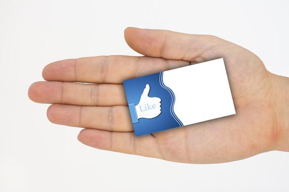 O símbolo de 'Like' de Facebook é unha icona das redes sociais.