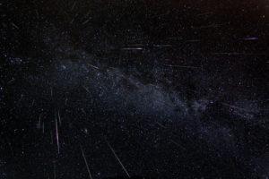 Imaxe das Perseidas tomada en 2007 polo fotógrafo Fred Bruenjes.