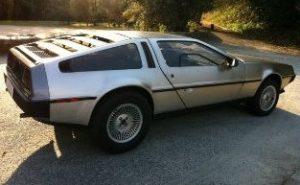 O DeLorean á venda na Coruña.