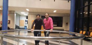 Iago González e Angel Iglesias, os dous socios de DQbito