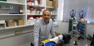 José Solla, químico lucense e investigador na Universidad de Alicante