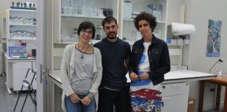 Chouciño, Fernández e Mouriño, autores do artigo na revista 'Nature Communications'.