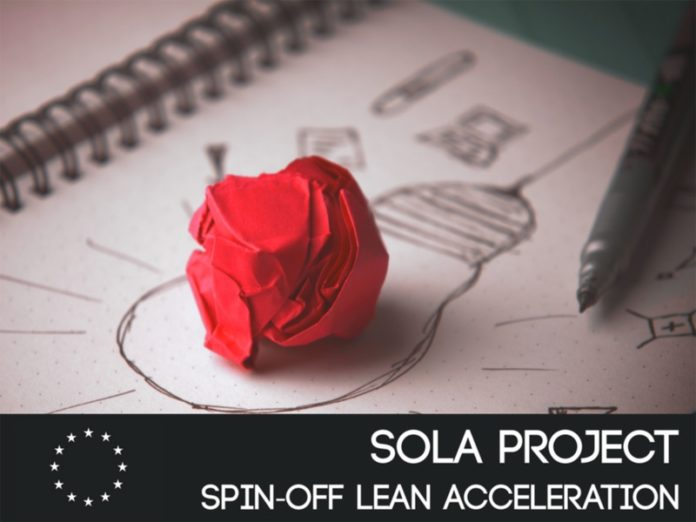 Cartel do programa SOLA, subvencionado pola Unión Europea.
