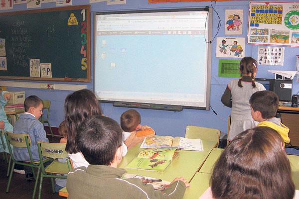 Unha escola rural de Galicia