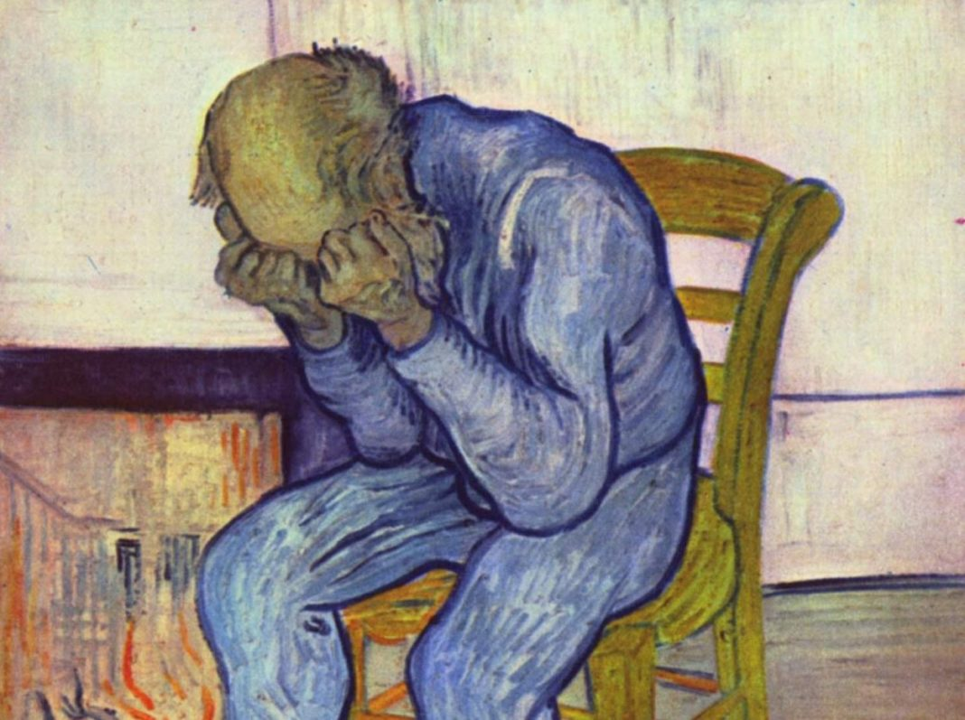 Obra de Vicent Van Gogh que representa un estado de depresión.
