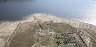 Campamento de Aquis Querquennis, campamento romano en Bande, na beira do Miño.