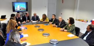 Reunión de constitución da Fundación do Centro de Innovación Aeroespacial de Galicia.