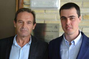 Gonzalo Navaza e Xurxo Martínez.