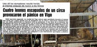 A nova da manda de leóns que aterrorizou Vigo deu a volta ao mundo.
