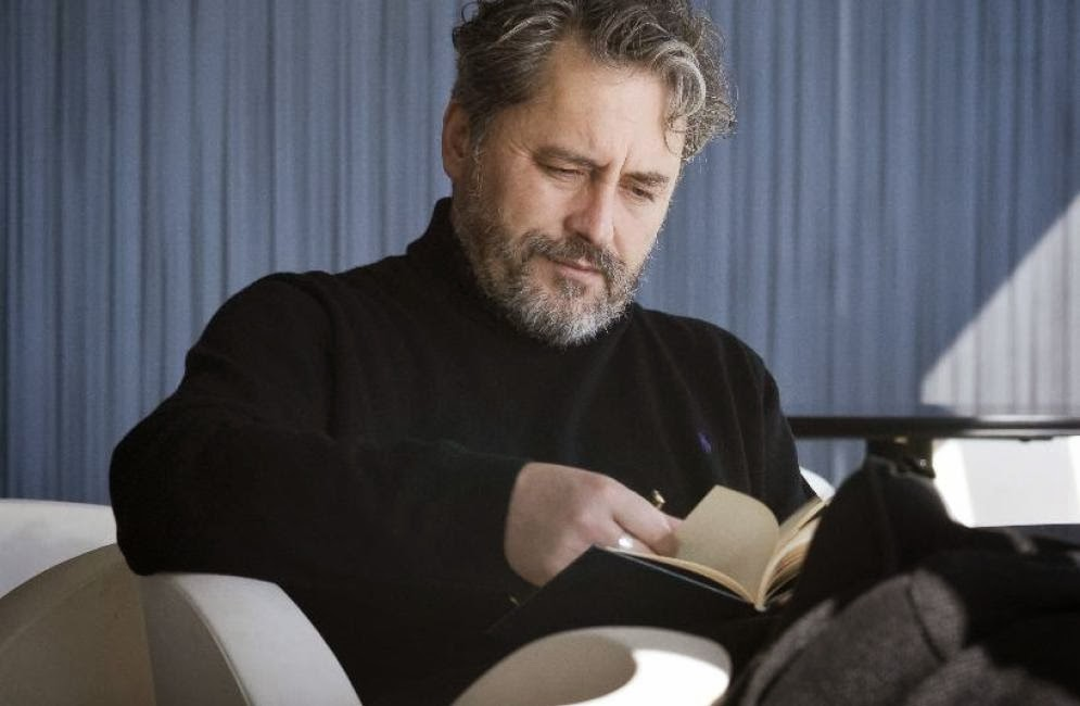 O escritor coruñés Manuel Rivas.