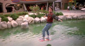 O monopatín voador que usou Marty McFly.