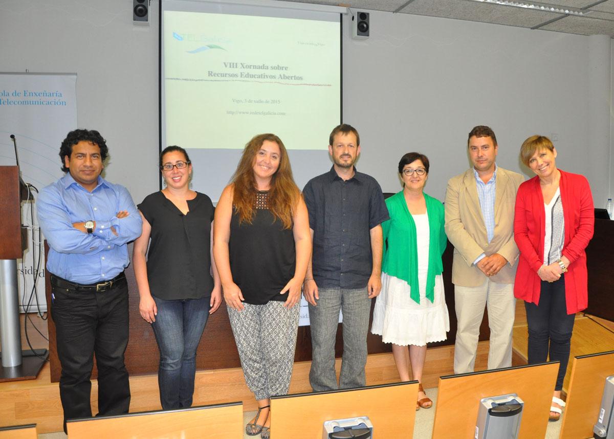 Reunión en Vigo do grupo TELGalicia, sobre docencia e telecomunicacións.