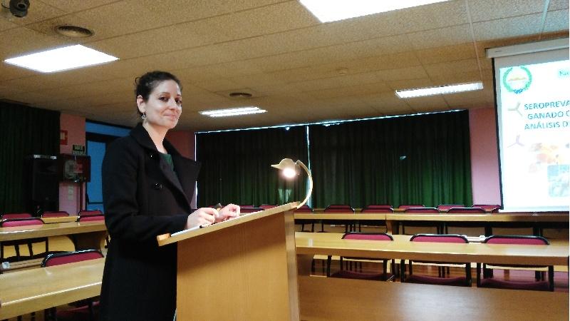 A autora da tese, Ana Pérez Creo