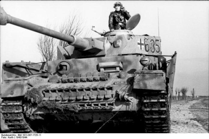 O volframio de Galicia empregábase para blindar armamento como os tanques Panzer alemáns. Foto: Bundesarchiv.