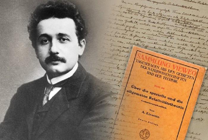 O 25 de novembro de 1915, Einstein formulou a Teoría da relatividade xeral.